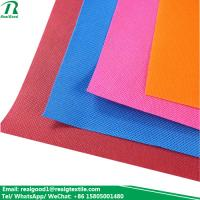 China Various colors pp spunbond fabric nonwoven bags material on sale