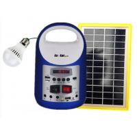 Quality solar powered energy  with radio speaker mobile charging , bluetooth wifi solar energy for countryside for sale