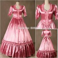 Quality Wholesale Civil War Victorian Gothic Dress Ball Gown Southern Belle Dress Cosplay Costumes for sale