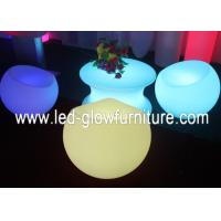 Quality High efficiency Waterproof Glowing LED Bar Chair , led lounge chair furniture for sale