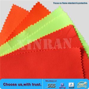 Quality EN20471 Fluorescent Fabric for sale
