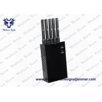 Quality 5 Antenna Cell Phone Signal Jammer 263L*140W*50Hmm Dimension GPS L1 L2 L5 for sale