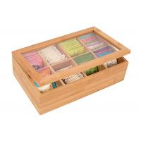 Quality High quality Bamboo Storage Box for coffee or Tea Box with Lid for sale