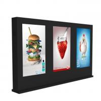 Quality Outdoor 55 Inch Lcd Digital Signage Display Customizable Color With Multi Screen for sale