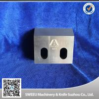 Quality D2 / SKD11 Plastic Granulator Blades customized Hardness long working life for sale