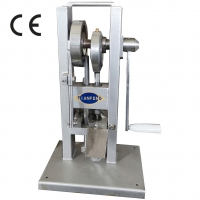 Quality GCr15 Manual Calcium Tablet Single Punch Press For Pharmaceuticals for sale