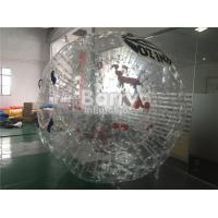 Buy cheap Personal Outdoor Inflatable Toys Large PVC Inflatable Body Zorb Ball Soccer from wholesalers