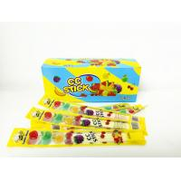 Quality 2.58g Multi Friut Flavor Short CC Stick Candy Lovely Package With Good Taste for sale