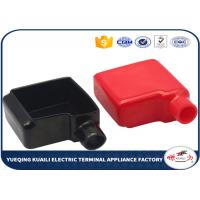 Quality Red / Black PVC Plastic Battery Terminal Covers For Protecting Cable Free Sample for sale
