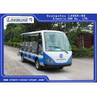 Quality 14 People Independent Seat Electric Sightseeing Bus Max.Speed 28 Km/H for sale