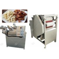 Quality Auto Almond Roasting Machine Peanut Blanching And Peeling Wet Type 150 Kg / H for sale