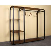 Buy Customized Design Garment Storage Rack / Industrial Clothing Rack Easy Assemble at wholesale prices