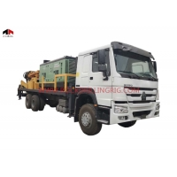 China 93KW Hydraulic Water Well Borehole Drilling Rig Equipment on sale