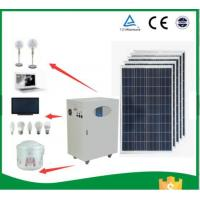 Quality Waterproof Full House Solar Power SystemAnti Reflective Surface 12V Agm Battery for sale