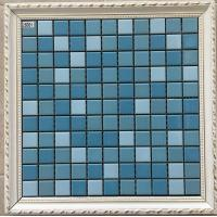 Buy cheap Small Size Swimming Pool Mosaic Tiles 6mm Thickness Mesh Decorative Tiles from wholesalers