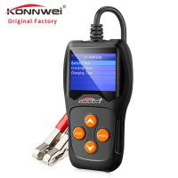 China Hand - Held Car Battery Tester Battery Charger Tester Auto Data Print Support on sale