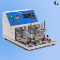 China Ethyl Alcohol Scratch Coating Surfact Abrasion Testing Machine on sale
