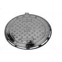 Quality Black Heavy Duty Manhole Covers Metal Drain Cover Corrosion Resistant for sale