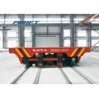 Quality Motorized Coil Custom Material Handling Carts For Industrial Rail Die Material Handling Cart for sale