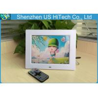 Quality Multifunction SD / MMC / MS 8 Inch Digital Photo Frame With Remote Controller for sale