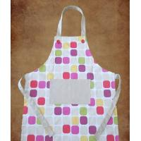 Quality 100% cotton twill fabric printed apron for sale