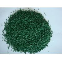 China Colored EPDM rubber granules on sale
