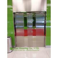 Quality Double-leaf Fire-rated Glass Door,Stainless steel fire rated emergency exit door for sale