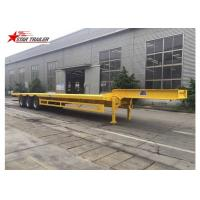 Quality 3 Axles Front Load Trailer High Strength Steel Material For Cargo Transportation for sale