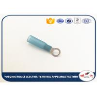 Buy cheap Blue Waterproof Heat Shrink Connectors Ring Terminals HR2.5-5 from wholesalers