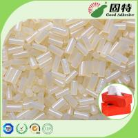 Quality Packaging Tissue Box Sealing Hot Melt Pellets Yellowish Color Strong Adhesive Yellowish granule Hot Melt Glue Adhesive for sale