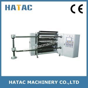 Quality Pneumatic Loading Kraft Paper Slitting Rewinding Machine for sale