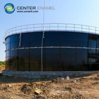 Quality Smooth Glass Fused Steel Tanks , 30000 Gallon Bolted Steel Water Storage Tank for sale