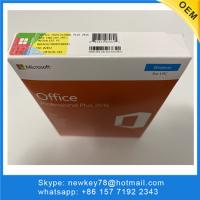 Quality For 3 Users Microsoft Office Professional Plus 2016 Original Key With Package for sale