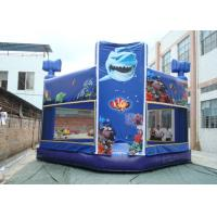 China Indoor or Outdoor Commercial Grade Bouncy Castle / 0.55MM PVC Inflatable Bouncer on sale