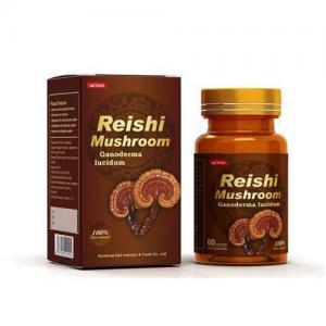 Quality Reishi Mushroom Ganoderma lucidum Capsule (Ling Zhi)- Chinese Traditional Tonic—Ganoderma Extract-- for sale