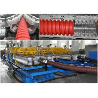 Buy cheap Customized PE / PP Spiral Pipe Extrusion Line With Single / Multi Layer from wholesalers