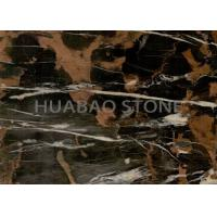 China Wall Cladding  Marble Slab Tile , Natural Stone Flooring Polished Surface on sale