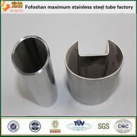 Quality Stainless steel slotted tubing 316 square pipe slotted for sale