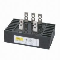 China Bridge rectifier, single- and 3-phase, 60 to 300A, 400 to 1800V on sale