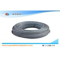 Standard 100m Per Roll Suspended Platform Steel Wire Rope / Safety Rope / Cable