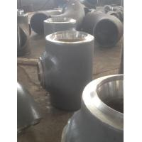 Quality EN 10253 Heavy wall thickness tee pipe fittings , steel pipe connectors for sale