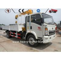 Quality Howo 4x2 Telescopic Boom Truck Mounted Crane Hydraulic Truck 2 Ton 3 Ton 5 Ton for sale