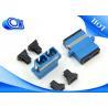 Buy cheap 2 Port SC UPC Fiber Adapter Single Mode Duplex Blue Black Dust Cap from wholesalers