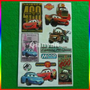 China custom car sticker/ cartoon sticker on sale