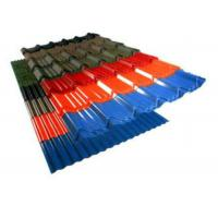 Quality Colour Coated Corrugated Roofing Sheets , Hot Rolled Corrugated Metal Panels for sale