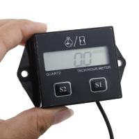 Buy cheap Digital LCD Waterproof inductive hour meter, SP-201 for Marine, ATV and Generators from wholesalers
