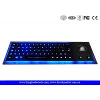 Quality Waterproof Illuminated Metal Keyboard EMC With High Temperature-Resistant Polycarbonate Keys for sale