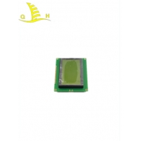 China White LED 128x64 STN Negative STN Lcd Display With PCB on sale