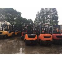 China 8FDN30 Manual Second Hand Diesel Forklifts 3m Lifting Height Side Shift on sale