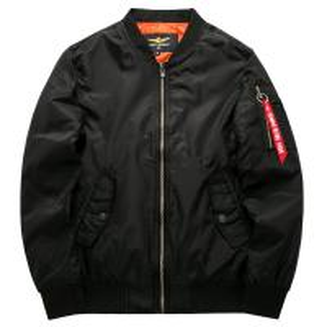Quality Ma1 Aviator Running Jacket Of 100% Cotton Men